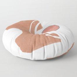 Organic connection Floor Pillow