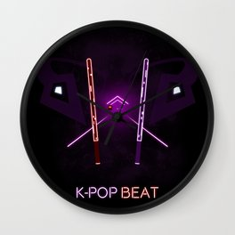 K-POP Beat Wall Clock