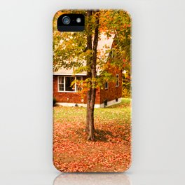 home in vermont iPhone Case