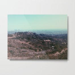 LA Conservatory  Metal Print