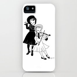Violin players iPhone Case