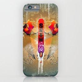 Snowboarding iPhone Case