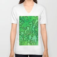 ruben ireland V-neck T-shirts featuring Ireland by Andrea Gingerich