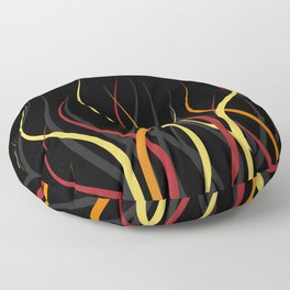 Burning Floor Pillow