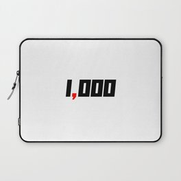 One Comma Club Humble Start Entrepreneur Laptop Sleeve