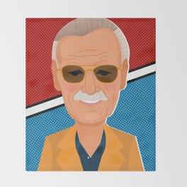 Stan Lee Throw Blanket