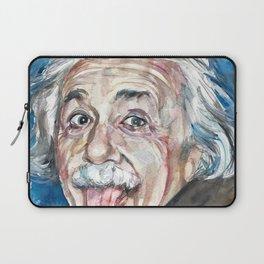ALBERT EINSTEIN - watercolor portrait Laptop Sleeve
