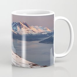 Mountain in Tromso Coffee Mug