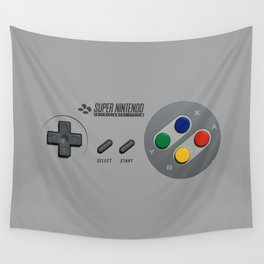 Classic Nintendo Controller Wall Tapestry