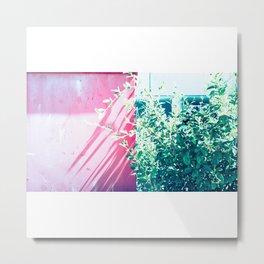Bicolor Metal Print