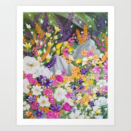 Flower and Garden Art Print
