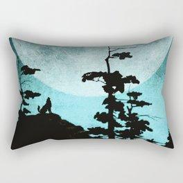 When Night Falls Rectangular Pillow