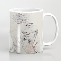 bees Mugs featuring Bees by Brian Jarrell