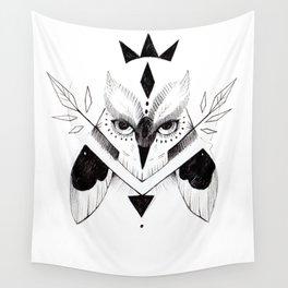 OWL INKTOBER Wall Tapestry