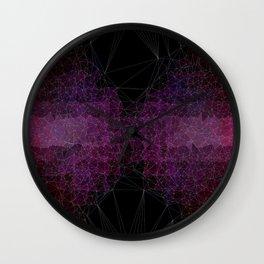 Abstract Polygons Wall Clock