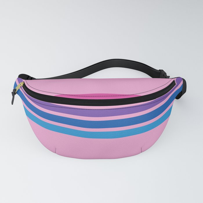 Rainbow on Pink Fanny Pack