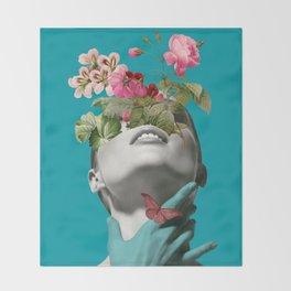 Inner beauty 3 Throw Blanket