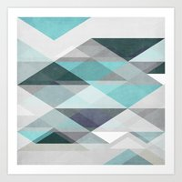 nordic Art Prints featuring Nordic Combination 1 X by Mareike Böhmer