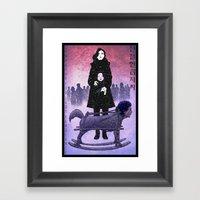Sympathy for Lady Vengeance [full color] Framed Art Print