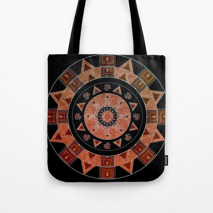 ethnic circle Tote Bag