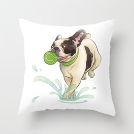 Bubba Splash Throw Pillow