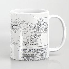 Pacific Electric Railway in Southern California Coffee Mug