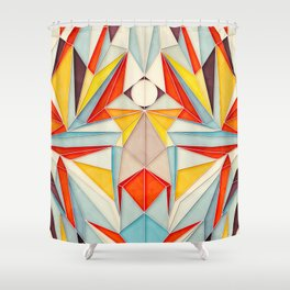 Everything is Fine Shower Curtain