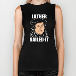 Luther Nailed It Biker Tank