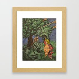 Personalitree Framed Art Print