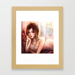 lady M *GirlsCollection* Framed Art Print