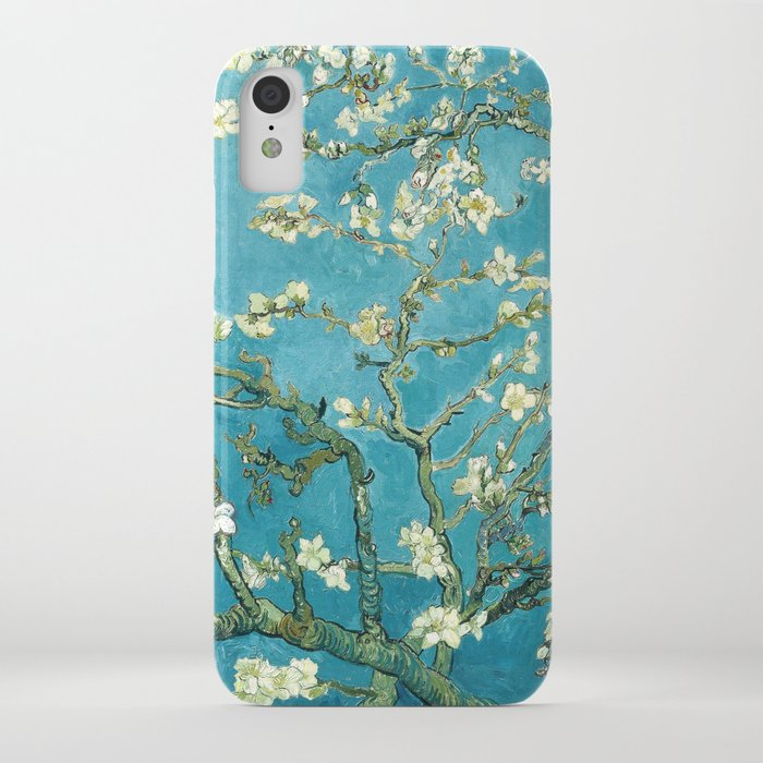 almond blossoms by vincent van gogh iphone case