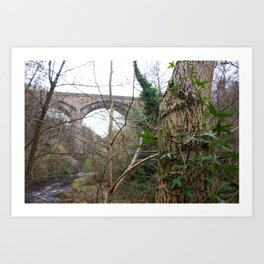 Water of Leith Edinburgh 2 Art Print