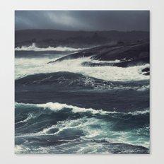The Dark Tide Canvas Print