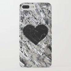 Black Heart Slim Case iPhone 7 Plus