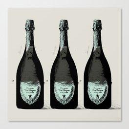Dom Perignon Champagne Canvas Print