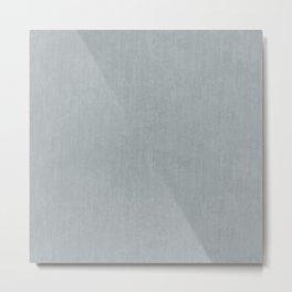 Smooth Concrete Metal Print