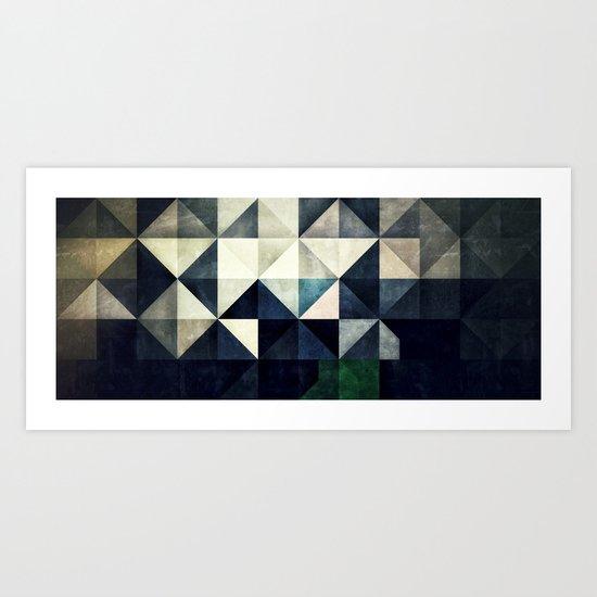 GLYZBRYKS Art Print