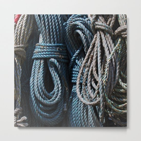 A Load of Old Rope Metal Print