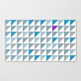 Triangles2 Canvas Print