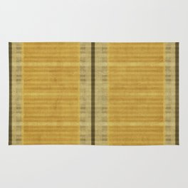 """Simple Oriental Curtains (Light Yellow)"" Rug"