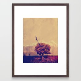 Mom? wtf? Framed Art Print