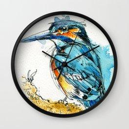 Regal Kingfisher Wall Clock