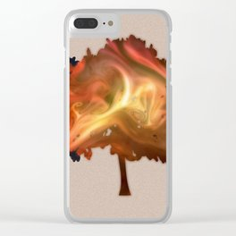 trees #2 Clear iPhone Case