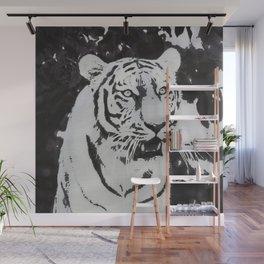 Urban Pop Art Tiger Wall Mural