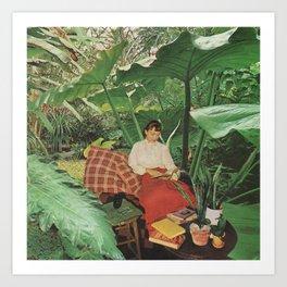 Jungle Retreat Art Print