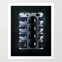 Nikon Clones Art Print