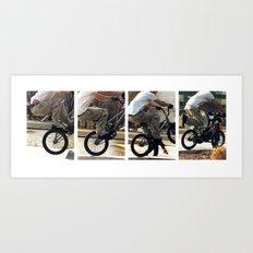 The Jump Art Print