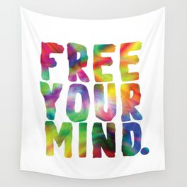 Free Your Mind Wall Tapestry