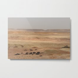 Ait-Ben-Haddou, in Ouarzazate province in Morocco Metal Print
