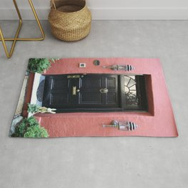 Black Door In Charleston Rug